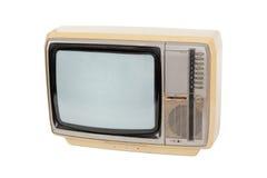 Vieille télévision de cru Photo libre de droits
