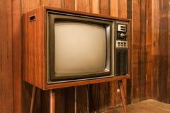 Vieille télévision de cru Photographie stock