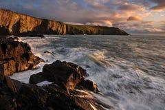 Vieille tête de Kinsale, Co Cork Ireland Images libres de droits