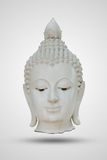 Vieille tête de statue de Bouddha Images libres de droits