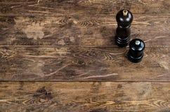 Vieille table en bois Image libre de droits