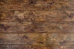 Vieille table en bois Images libres de droits