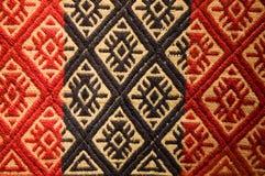 Vieille tapisserie indigène d'Argentine. Images libres de droits