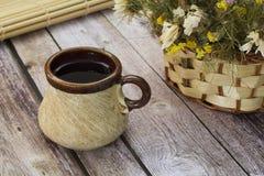 Vieille tasse de thé image libre de droits