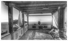 Vieille terrasse photos libres de droits