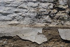 Vieille texture blanche de mur photo stock