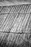 Vieille texture d'ardoise de toiture Image stock