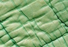 Vieille texture de couverture de couleur verte Images libres de droits
