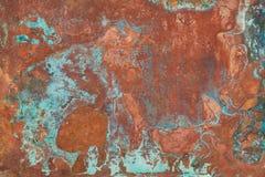 Vieille texture de cuivre image stock