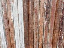 Vieille texture de fond de barres en métal images stock