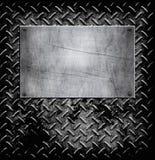 Vieille texture de fond en métal illustration stock