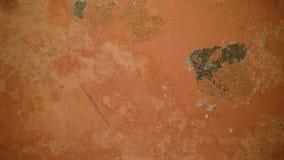 Vieille texture de mur dans la couleur orange image libre de droits