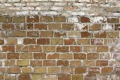 Vieille texture de mur de briques Images libres de droits