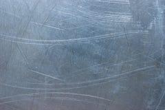 Vieille texture de mur en métal, calibre grunge du pla en aluminium ou d'acier images stock