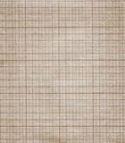 Vieille texture de papier de graphique Photographie stock libre de droits