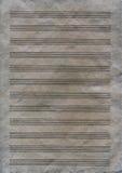 Vieille texture de papier de note Image libre de droits