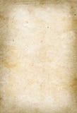 Vieille texture de papier parcheminé Images libres de droits
