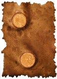 Vieille texture de papier sale Images libres de droits