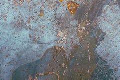 Vieille texture de plaque métallique rouillée de fond photo libre de droits