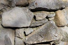 Vieille texture de roche au mur images stock