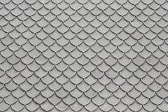 Vieille texture de tuile de toit Image stock