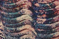 Vieille texture de tuile de toit, couleur de vintage image stock