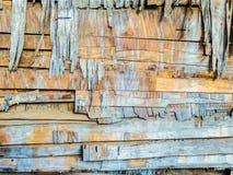 Vieille texture en bois épaisse de fond photos libres de droits