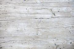 Vieille texture en bois blanche Images stock
