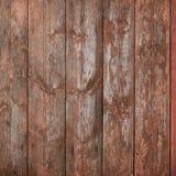 Vieille texture en bois colorée de planches Image libre de droits