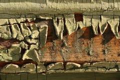 Vieille texture en bois criquée Photos libres de droits