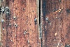 Vieille texture en bois de planches Photos libres de droits