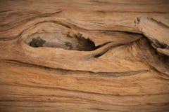 Vieille texture en bois de trou Photographie stock