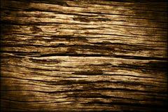 Vieille texture en bois fonc?e de fond Images libres de droits