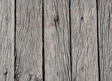 Vieille texture en bois grise pour le fond ou la maquette Vieille fin en bois de texture vers le haut Photos libres de droits
