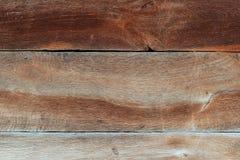 Vieille texture en bois, panneaux en bois bruns Photo libre de droits
