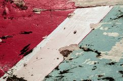 Vieille texture en bois rayée colorée images libres de droits