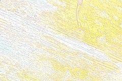 Vieille texture en bois superficielle par les agents avec une couche endommagée abrégez le fond Photographie stock libre de droits