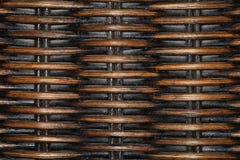 Vieille texture en bois tissée avec la poussière Photos stock