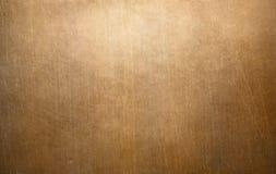Vieille texture en métal d'en cuivre ou de bronze Photo libre de droits
