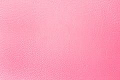 Vieille texture en similicuir rose comme fond Photos libres de droits