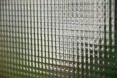 Vieille texture en verre de câble Photographie stock libre de droits