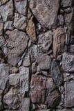 Vieille texture et fond de mur en pierre Fond de mur de roche Photo libre de droits