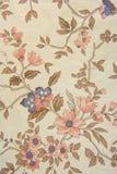 Vieille texture florale de papier peint Image libre de droits