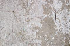 Vieille texture grise sale concrète de mur de fond images stock