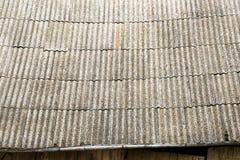 Vieille texture grise superficielle par les agents de toit Photographie stock libre de droits