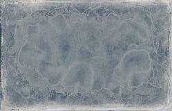Vieille texture grunge bleue minable de cadre de conception Photo stock
