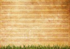 Vieille texture grunge de papier de feuille de musique Photographie stock