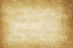 Vieille texture ou fond de papier avec la vignette foncée b Image libre de droits