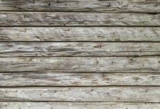 Vieille texture ou fond en bois sale de mur Images libres de droits