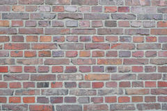 Vieille texture rouge de fond de mur de briques Photographie stock libre de droits